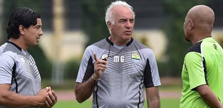Mario Gomez - Pelatih Persib Bandung (persib.co.id)