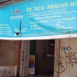 SEPI: Kantor PT Do'a Arafah Madinah yang beralamat di Jalan Tole Iskandar, Kelurahan Sukamaju, Cilodong, yang disinyalir menunda-nunda keberangkatan jamaah umroh. Rubiakto/Radar Depok