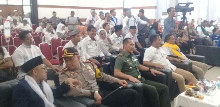 Polres Purwakarta Turunkan 25 personil untuk mengawal pasangan calon bupati dan wakil bupati./Foto: Ade