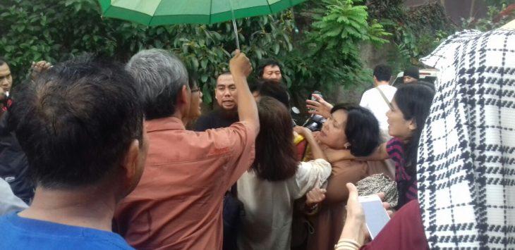 Grace, korban ledakan gas alam di Perumahan Cimanggu Residence./Foto: Adi