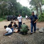 Korem 061/Suryakancana gerebek pelaku pengoplosan tabung gas di Kampung Banjar Pinang, Desa Tamansari, Kecamatan Rumpin, Kabupaten Bogor, Senin (19/02/2018).