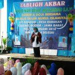 - Calon Bupati Bogor Ade Yasin menghadiri Tabligh Akbar Maulid Nabi Besar Muhammad SAW, zikir, dan doa bersama di sela-sela kampanye di Kp.Pondok Desa Babakan, Kec. Ciseeng, Rabu (21/2/2018).