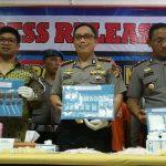 Sat Narkoba Polresta Bogor Kota, kembali mengungkap kejahatan peredaran narkotika, ganja dan obat terlarang.
