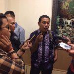 Peneliti senior JPPR Yos Fitriadi saat diwawancara wartawan di Hotel Sahid Jaya Lippo Cikarang, Cikarang Selatan, Kabupaten Bekasi.Enriko/Pojokjabar