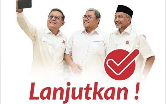 Gubernur Jawa Barat Ahmad Heryawan saat menyatakan dukungannya kepada pasangan Sudrajat-Ahmad Syaikhu (Asyik)/foto: Twitter