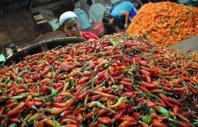 Musim Hujan Harga Cabai Rawit Merah Di Pasar Induk Cibitung Naik Segini Pojokbekasi Com