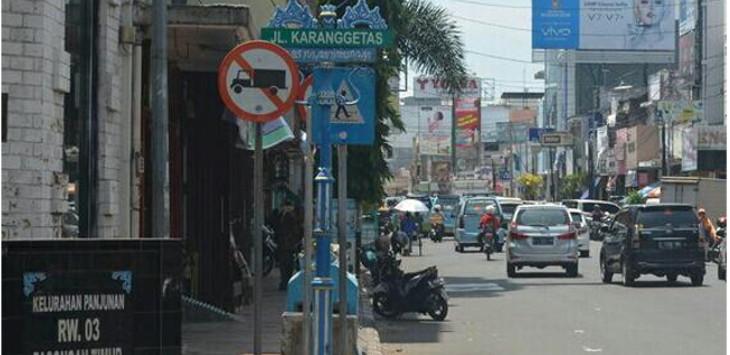 Jalan Karanggetas Kota Cirebon. Foto: Alwi