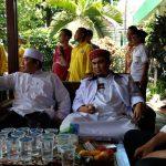 Calon Bupati Bogor, Ade Jaro (kanan), saat bersilaturahmi dengan ulama dan kiai Bojonggede, Selasa (21/2). IST