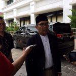 Calon Gubernur Jawa Barat Ridwan Kamil saat diwawancara wartawan di Kabupaten Bekasi.Enriko/Pojokjabar