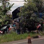 Kecelakaan maut terjadi di Jalan Raya Rajamandala Cipatat Kabupaten Bandung Barat