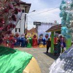 Parade ondel-ondel turut memeriahkan acara Bekasi Disruptive Weekend.Enriko/Pojokbar