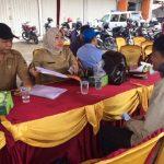 Samsat Kabupaten Bekasi saat menggelar operasi gabungan beberapa waktu lalu.Enriko/Pojokjabar