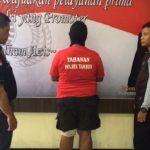 Pelaku peneror ustaz di Tambun Utara, Kabupaten Bekasi ditangkap Polsek Tambun.Enriko/Pojokjabar