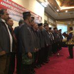 Anggota Forum Pembauran Kebangsaan Kabupaten Bekasi dilantik Wakil Bupati Bekasi Eka Supria Atmaja.Enriko/Pojokjabar
