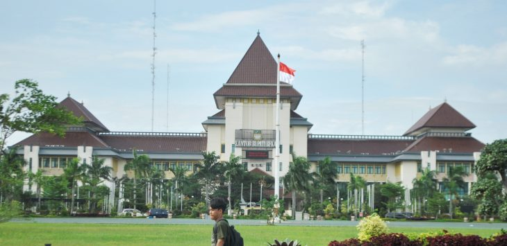 Komplek perkantoran Pemerintah Kabupaten Bekasi.