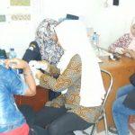 TERJARING: Belasan PSK yang terjaring razia diperiksa di kantor Satpol PP Cianjur. Foto: Fadilah Munajat/Radar Cianjur