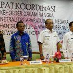 PAKTA INTEGRITAS ASN: Rakor Panwaslu Kora Bogor, Kamis (15/02/2018)./Foto: Dhoni