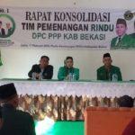 Partai pengusung pasangan RINDU di Kabupaten Bekasi menggelar rapat konsolidasi.Enriko/Pojoksatu