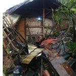 Rumah ambruk di Cibeber Cianjur