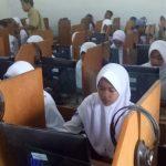 SMPN di Kota Cirebon laksanakan UNBK. Foto/Istimewa