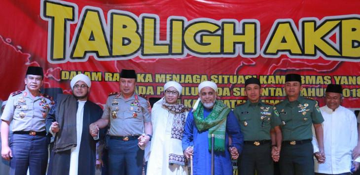 Kapolda Jabar Irjen Pol Drs.Agung Budi Maryoto. saat di Bundara Binokasih Kabupaten Sumedang, Kamis(22/2) malam/Foto: Rmol.co.