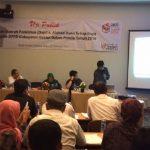 KPU Kabupaten Bekasi menggelar kegiatan uji publik soal alokasi kursi dan dapil untuk Pemilu 2019.Enriko/Pojoksatu