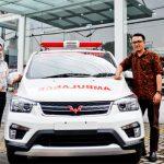 Varian Wuling Ambulance ini merupakan hasil inovasi yang memodifikasi kendaraan wuling type Confero menjadi mobil ambulan