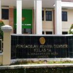 Kantor Pengadilan Agama Kelas 1A Sumber Kabupaten Cirebon. Foto: Bagja/pojokjabar