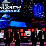 Debat Pilgub Jabar 2018 . Riana Setiawan/Radar Bandung