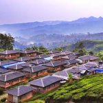 CALON GEOPARK: Kampung Citalahab, Desa Malasari, Kecamatan Nanggung, diperkirakan bakal masuk salah satu aset geopark nasional karena bangunan rumah telah ada sejak zaman penjajahan kolonial Belanda pada awal abad ke-20. INTERNET