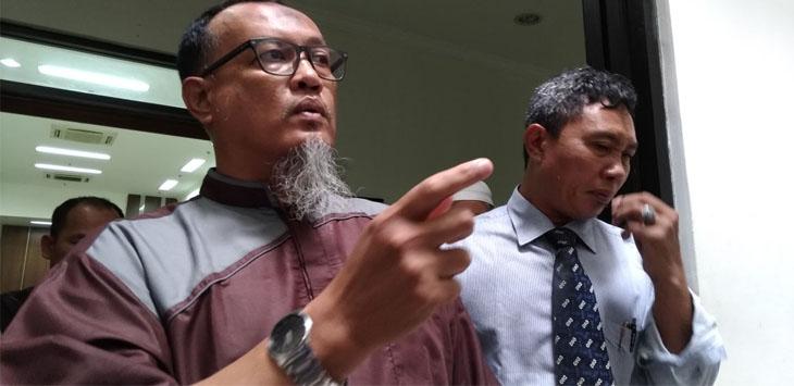 Kuasa Hukum Masjid Imam Ahmad Bin Hanbal Febri Irmansyah./Foto: Ikhsan