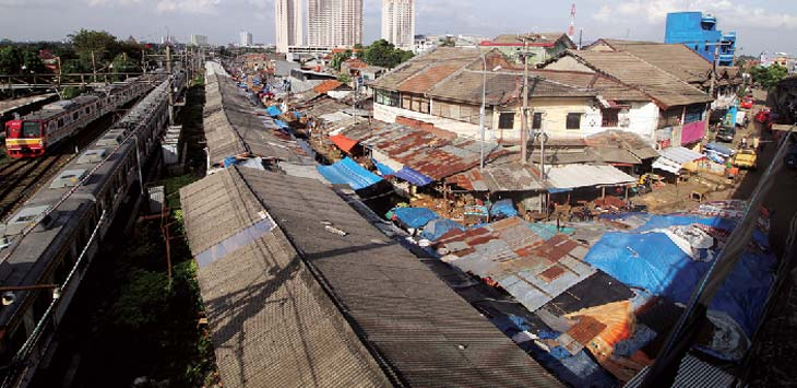 PASAR TRADISIONAL: Tampak terlihat Pasar Tradisional Kemiri Muka yang berada di kawasan Kecamatan Beji. Ahmad Fachry/Radar Depok