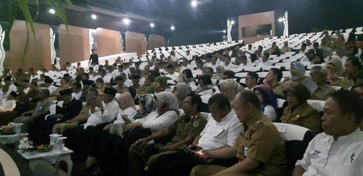 Musyawarah Rencana Pembangunan (Musrembang) Tahun 2019 di laksanakan di Gedung Yudistira Pemkab Purwakarta