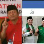 Padil Karsoma-Acep Maman (Paman) bermanufer dengan cara berpolitik yang diduga dua kaki/Foto: Ade.