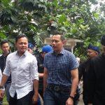 AHY bersama calon walikota Bogor Bima Arya, Kamis (22/3/2018)/Foto: Adiwirman.