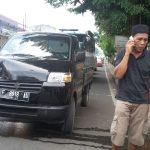Kecelakaan di Jalan Tajur Raya Bogor. Jumat (23/3/2018)/Foto: Adiwirman.