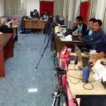 - Perekaman Biometri dan e-KTP warga binaan lapas Cibinong kelas II A telah berlangsung selama tiga hari/Foto: Unang.