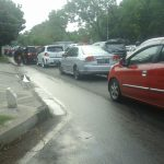 Jalan Pemuda Kota Cirebon, menjadi pemandangan tak aneh jika pada sore hari karena sering terjadi macet/Foto: Alwi.