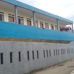Ini bangunan tempat di mana guru ngaji diduga cabuli 10 bocah/Foto: Adiwirman.