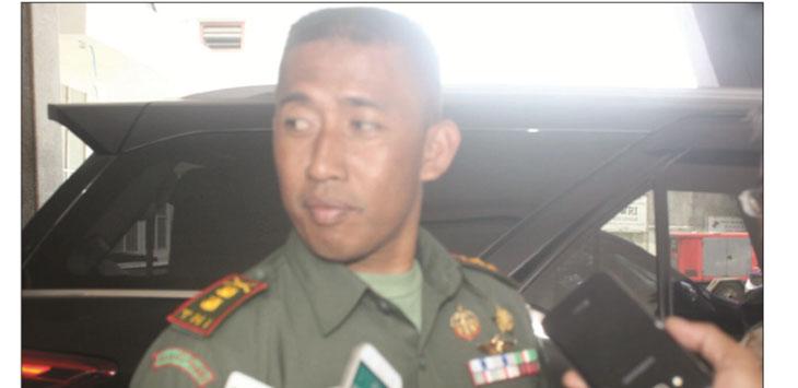 SERIUS:Dandim 0607 Kota Sukabumi Letkol Inf M. Mahfud As'at