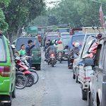 Kemacetan di Sukaluyu