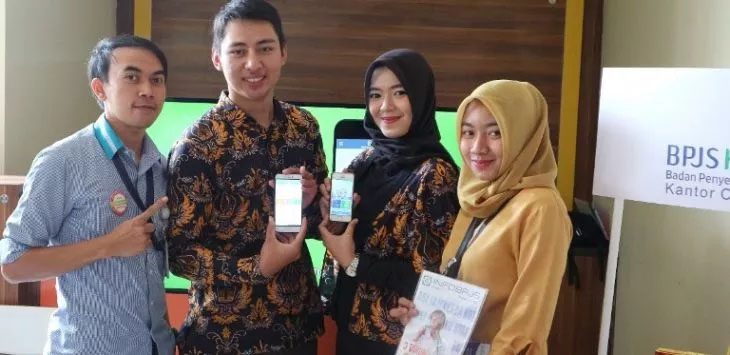 Mojang-jajaka Jabar sosialisasikan aplikasi Mobile JKN