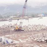 SEGERA DIMULAI: Proyek Pelabuhan Laut Pengumpan Regional (PLPR) di Pantai Karang Pamulang, Desa Citepus, Kecamatan Palabuhanratu tahap III akan segera dimulai.