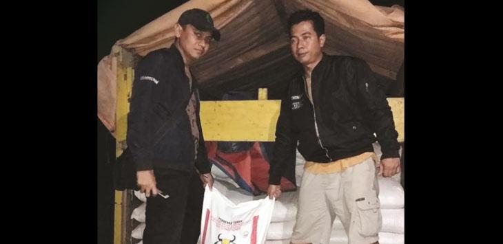 Pabrik pupuk ilegal di Kampung Gunungsreum Sukabumi digerebek polisi.