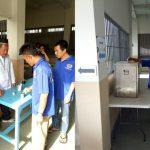Warga binaan Lapas Klas III Bekasi saat mencoblos di Pilkada Serentak 2017 kemarin. Foto : Dokumentasi