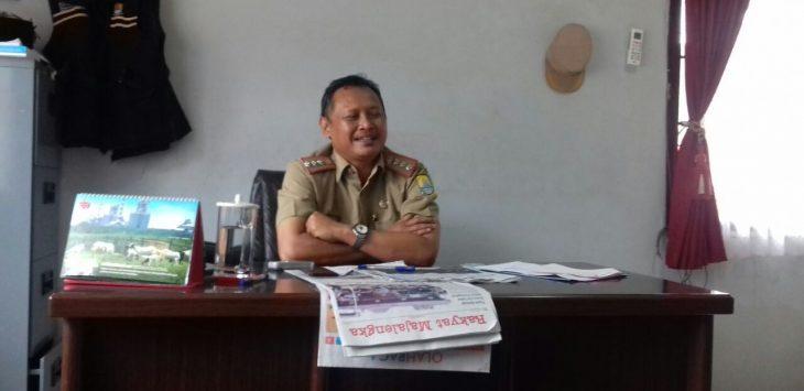 Camat Gempol Kabupaten Cirebon, H. Suharto. Foto: Bagja/pojokjabar.com
