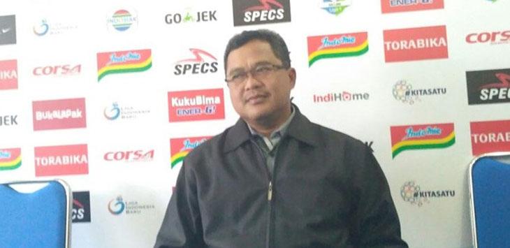 Ketua Panpel Arema FC, Abdul Haris, ingin memberikan rasa aman dan kenyamanan bagi Persib Bandung./Foto: via JawaPos.com