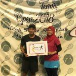 Atlet tenis asal Cirebon yang meraih presrasi di Kejurnas. Foto:Dede/pojokjabar.com
