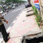 Jalur-Pedestrian-di-Jalan-Margonda-Raya