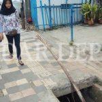 Jalur Pejalan Kaki di Depok